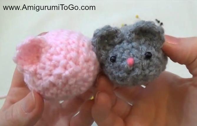Amigurumi Mouse Free Pattern and Video ~ Amigurumi To Go