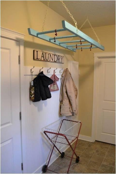 die wohngalerie leitern zweckentfremden simple tipps zum selbermachen. Black Bedroom Furniture Sets. Home Design Ideas