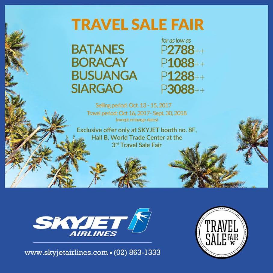 SkyJet Airlines Joins Travel Sale Fair Year 3!