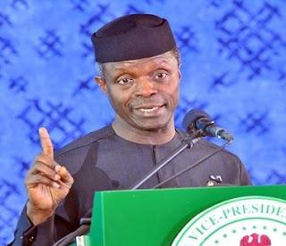 Ag. President Yemi Osinbajo