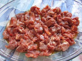 mięso w marynacie