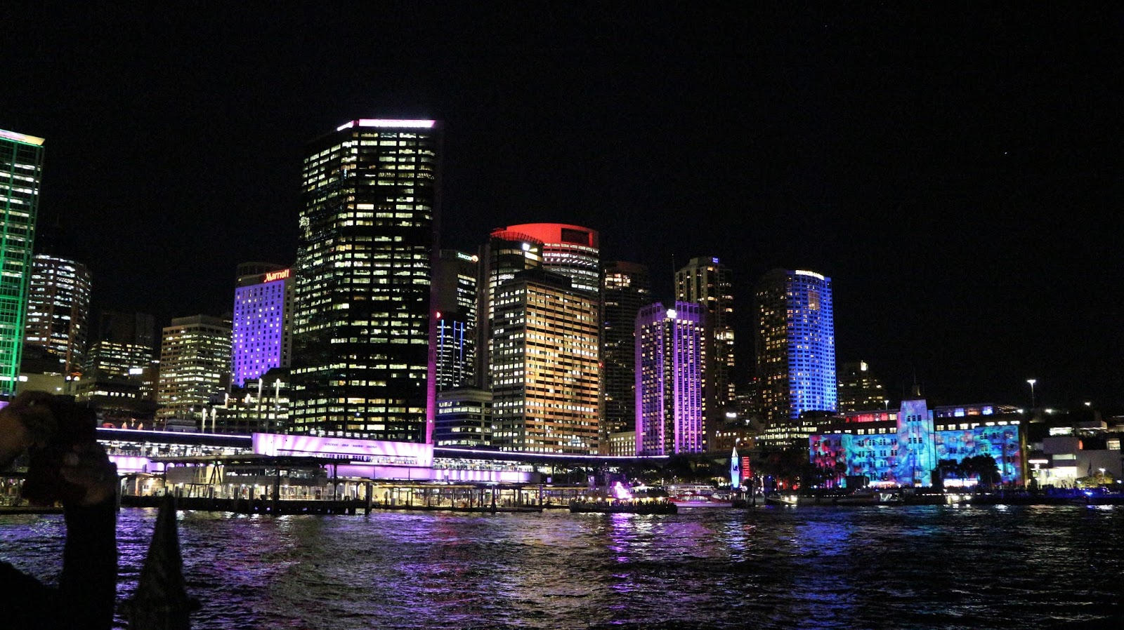 Sydney during Vivid