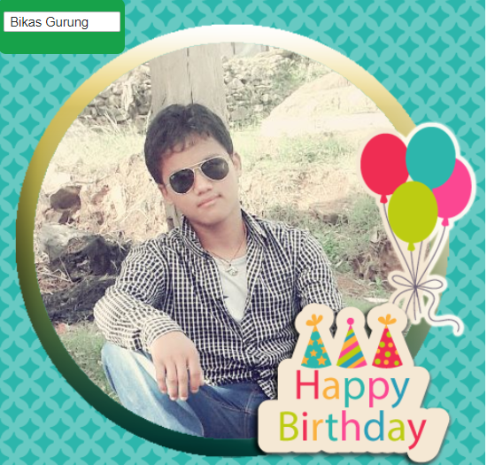 22nd Birthday of Bikas Gurung