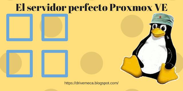 DriveMeca instalando Proxmox VE
