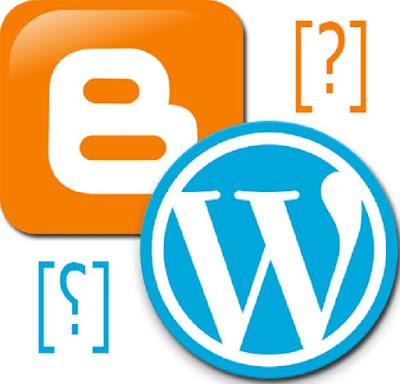 tentu kita tidak akan terlepas dari dua penyedia layanan web blog raksasa yang ada di dun Perbedaan Blogger dan Wordpress