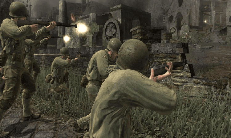 تحميل لعبة call of duty 2 مضغوطة برابط واحد مباشر
