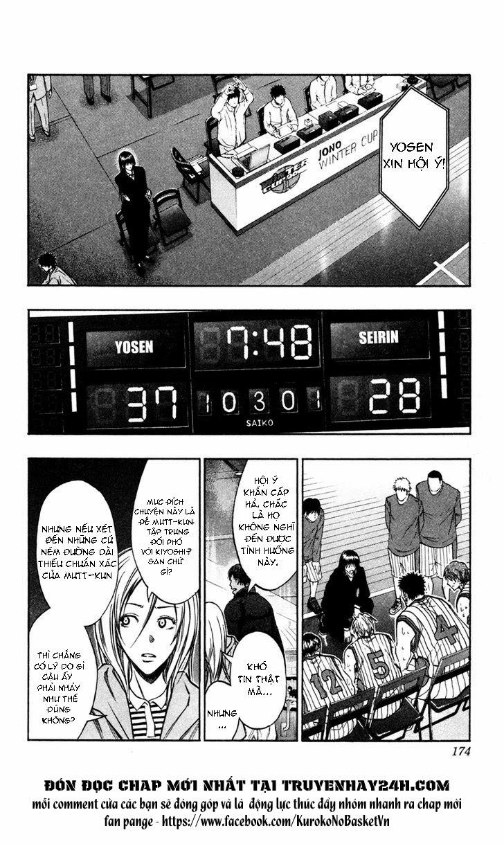 Kuroko No Basket chap 153 trang 7