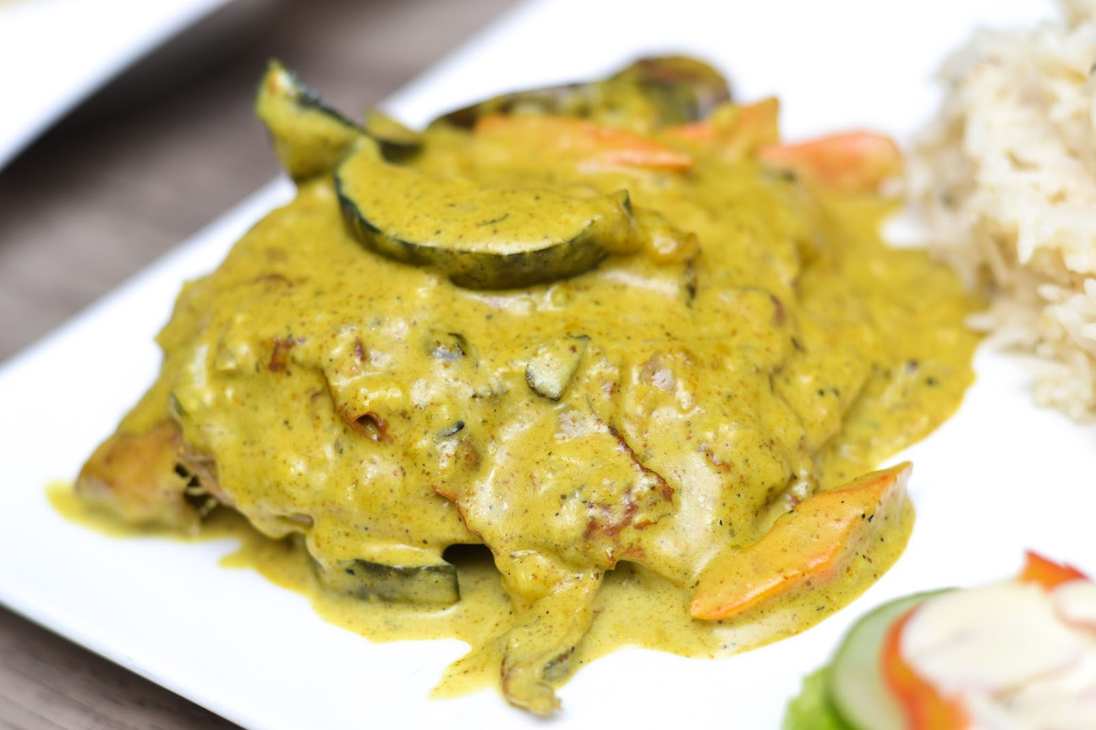 Chicken Grand Mere curry in Nigeria