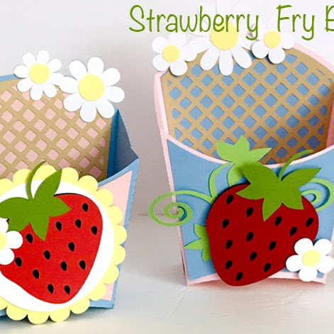Strawberry Fry Boxes