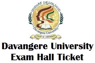 Davangere University Exam Hall Tickets 2018