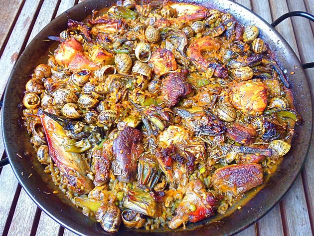 arroz con caracoles