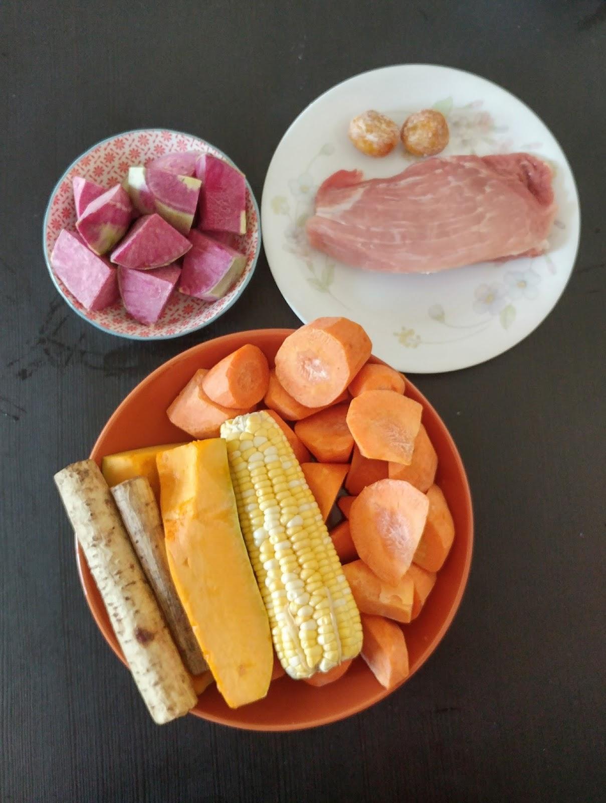 【春天湯水】清甜.滋潤.排毒.南瓜牛蒡心內美蘿蔔湯。合8m+