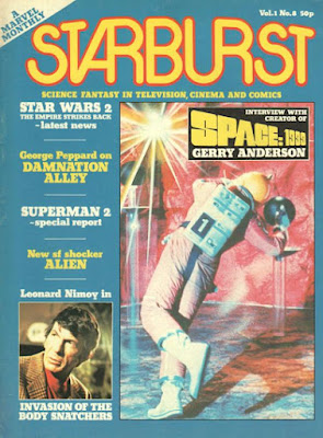 Starburst Magazine #8, Space 1999