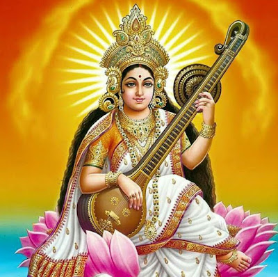 Picture Of Saraswati Ji