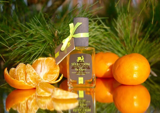 аромат с нотой мандарина