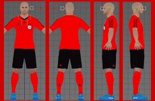 PES 2017 LaLiga Santander Referee Kit Pack