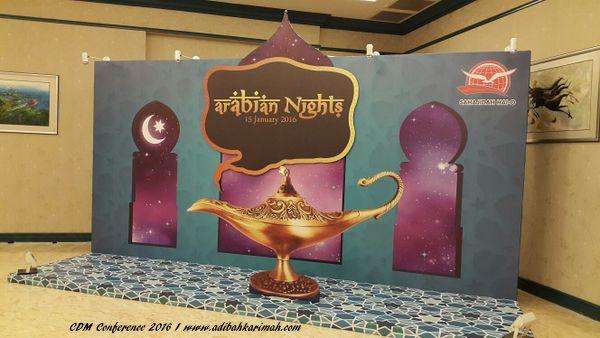 Arabic Night Theme