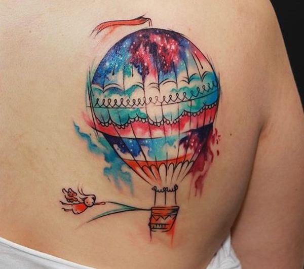 Viaje com este lindo balão