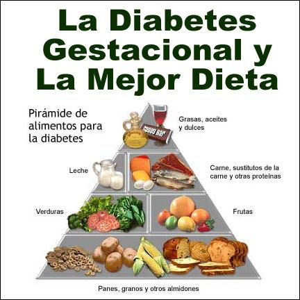 alimentacion de una embarazada con diabetes gestacional