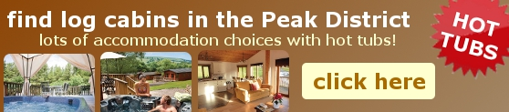 Find Log Cabins in the Peak District with Hot Tubs