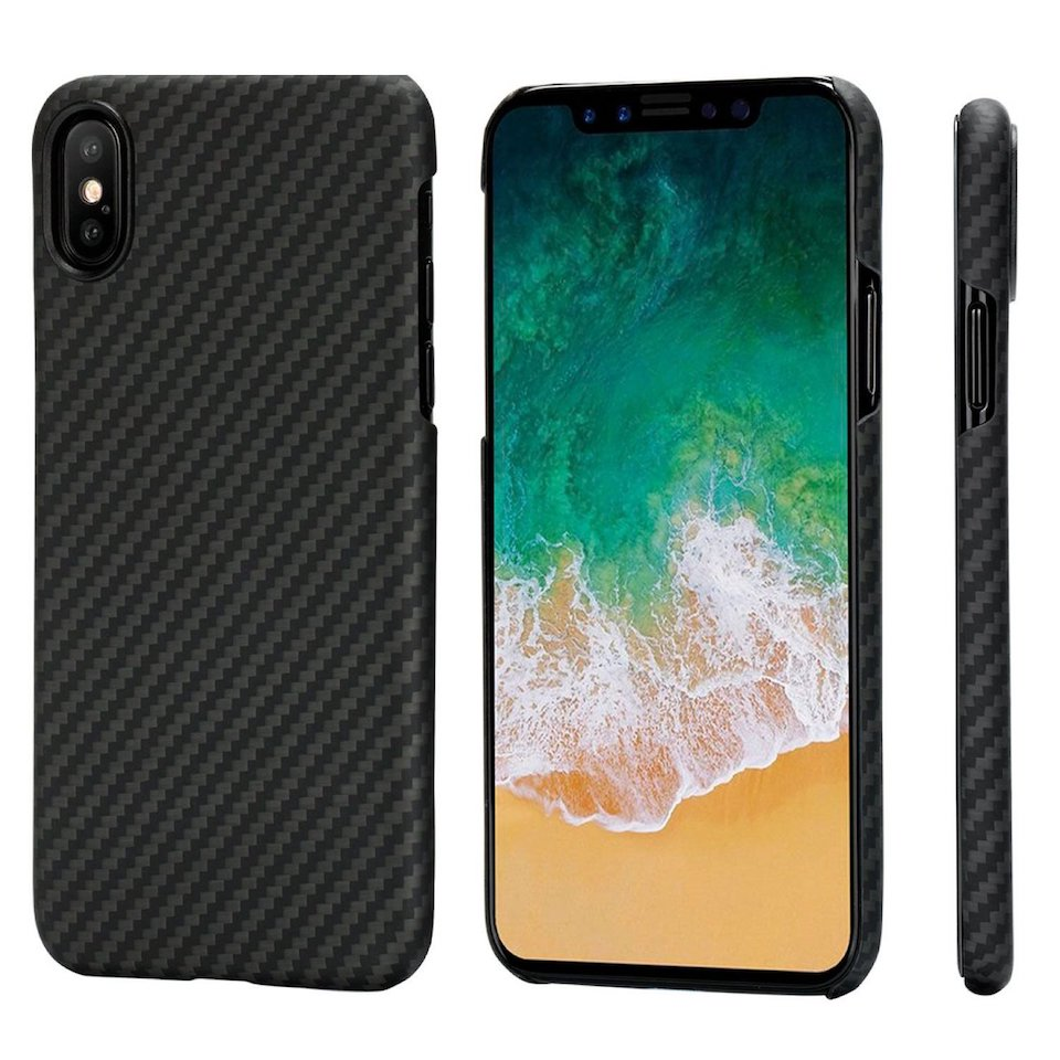 Custodia iPhone X PITAKA Magcase Aramid