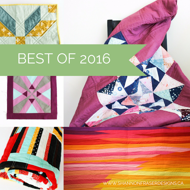 Best of 2016 | Modern Quilting | Shannon Fraser Designs