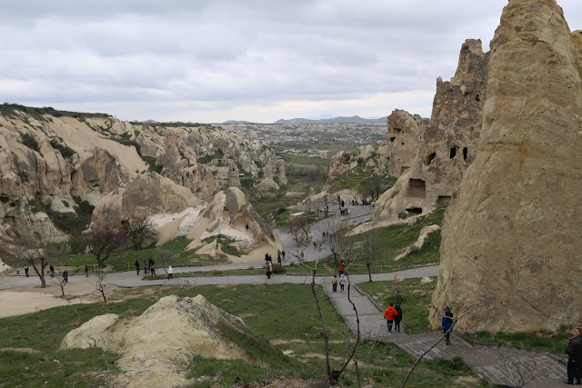 Most of the churches in Goreme Open Air Museum were operated between 10th to 12th centuries at Cappadocia in Turkey