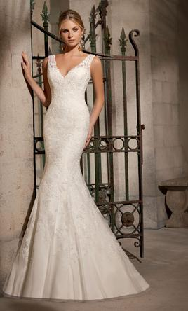 Used Mori Lee Wedding Dress
