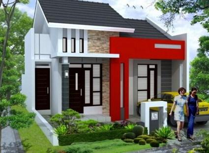 Gambar Rumah 6x12 Tampak Depan