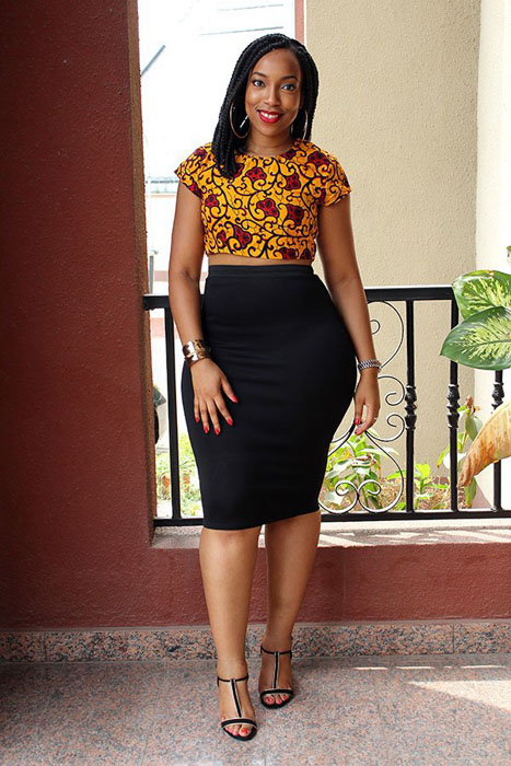 46c7af5e1c714 100 Pictures of the Latest Ankara Crop Top Styles in 2017 ...