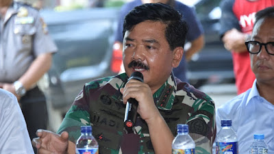 Panglima TNI Ikuti Rapat Koordinasi  Penanganan Darurat Bencana Alam Gempa Palu