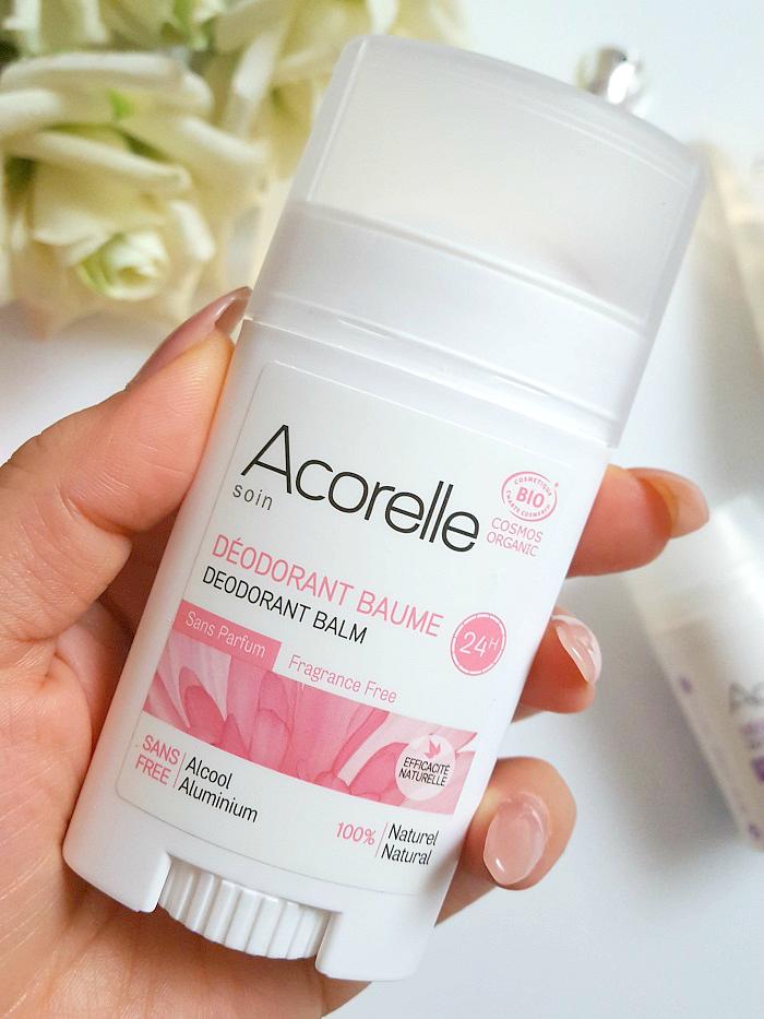 Review: Acorelle Fragrance Free Deodorant Balm - 40g - 7.00 Euro