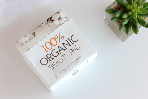 100% Organic Beauty Pad Natural Pacific - Style Korean