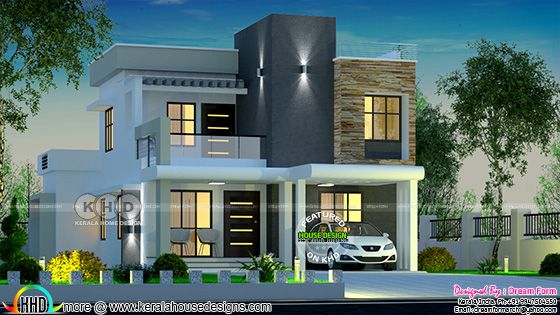 2137 square feet 4 bedroom modern house