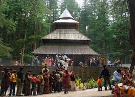 Kuil di Manali India