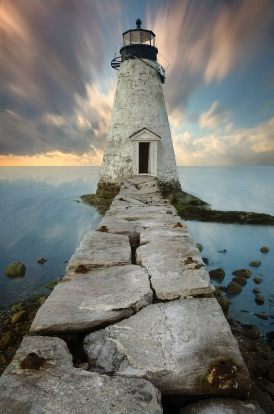 Palmer Island Light Station, Massachusetts, USA