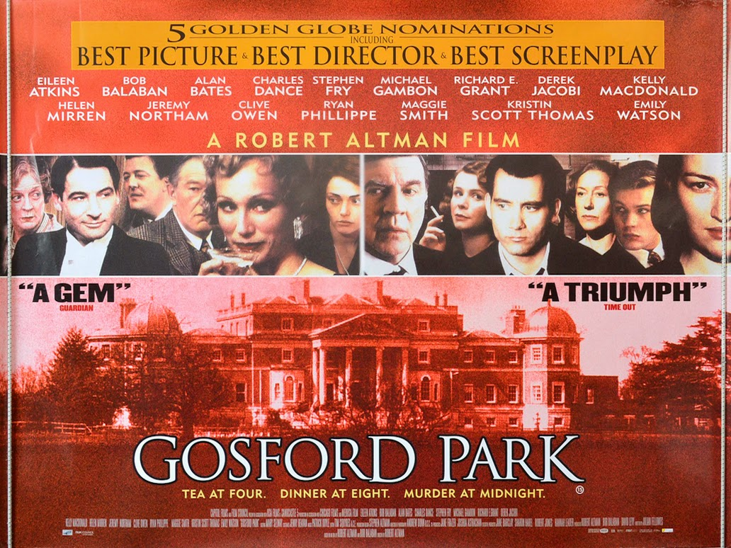 Discreet Charms Obscure Objects Gosford Park Dir Robert Altman 2001