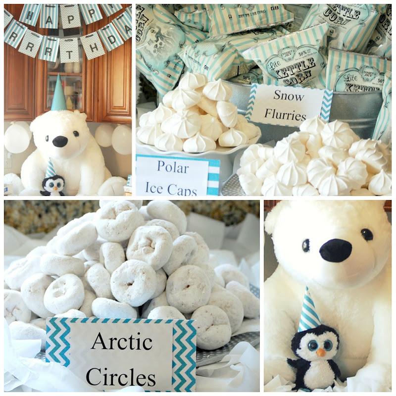 love live celebrate kids party inspiration polar bear. Black Bedroom Furniture Sets. Home Design Ideas