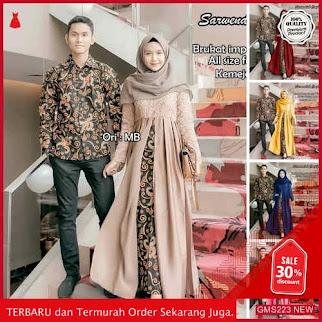 GMS223 ADropship SKNB223T294 Termurah Batik Couple Sarwendah Batik Dropship SK1416912000