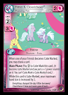 My Little Pony Flitter & Cloudchaser, Prancing Pair Marks in Time CCG Card