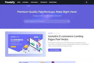 Freebify Responsive Blogger Template