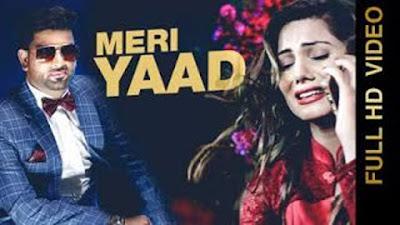 Meri Yaad Lyrics - RK Mehndi | Johan Samuel | Latest Punjabi Songs 2017