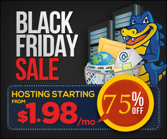 Hostgator Black Friday 2014 - 75% Off On All Hosting Plans