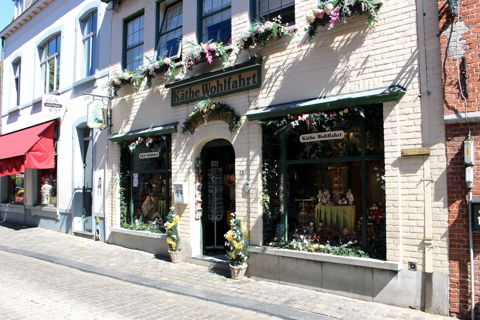 Rather Wohlfahrt shop in Bruges Belgium