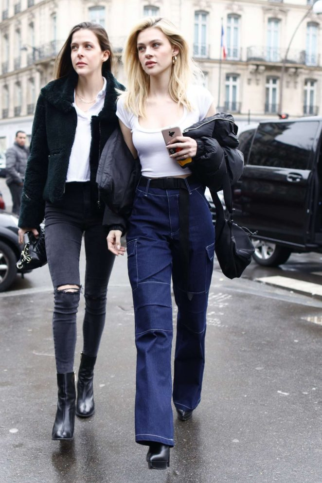 Nicola Peltz Spotted in Paris City