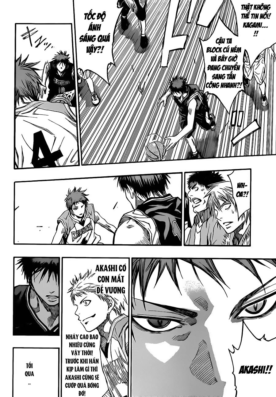 Kuroko No Basket chap 232 trang 15