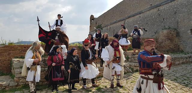 """Η """"Φρουρά Ναυπλίου - Στάϊκος Σταϊκόπουλος"""" συμμετέχει στις εορταστικές εκδηλώσεις της 25ης Μαρτίου"""