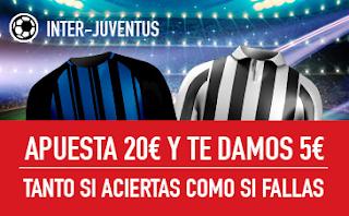 sportium Promo Inter vs Juventus 28 abril