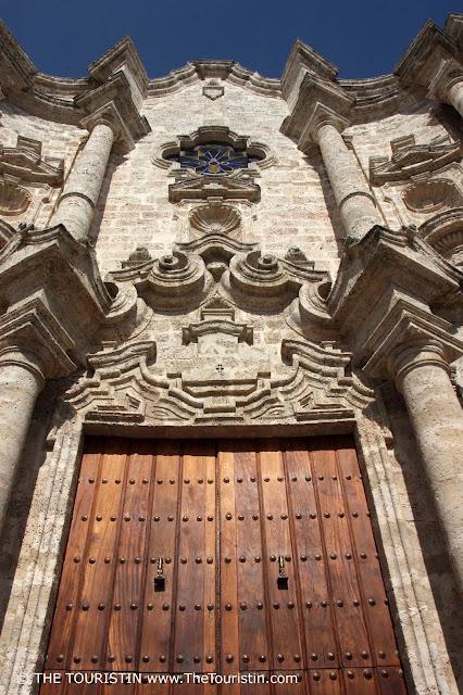 Catedral de la Habana Cuba Vieja The Touristin Entrance
