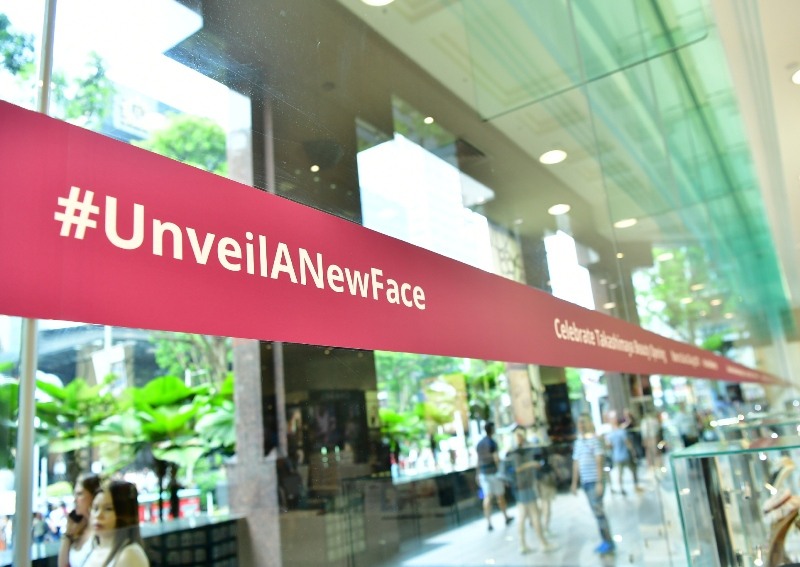takashimaya unveil a new face beauty blogger event